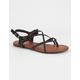 MIA Adrianna Criss Cross Braided Womens Sandals