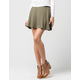 H.I.P. Ribbed Womens Skater Skirt