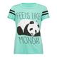FULL TILT Panda Monday Girls Tee