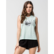 VOLCOM Killer Set Womens Muscle Tee