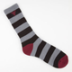 FALLEN Trademark Stripe Mens Crew Socks
