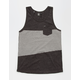 VOLCOM Threezy Mens Pocket Tank