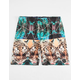 NEFF Battlekat Mens Hot Tub Volley Shorts