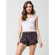 FULL TILT Twin Print Ruffled Womens Shorts