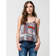 FULL TILT Patchwork Womens Tank