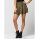 FULL TILT Suede Womens Skater Skirt