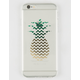 AUDIOLOGY Foil Pineapple iPhone 6 6S Case