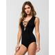FULL TILT Lace Up Womens Bodysuit