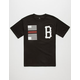 BLACK SCALE Rebellious B Mens T-Shirt