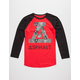 ASPHALT YACHT CLUB Illusion Boys Baseball Tee