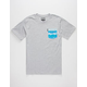 NEFF Castro Mens Pocket Tee