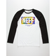 NEFF Tie Dye New World Boys Baseball Tee