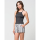 WHITE CROW Faded Womens Shorts