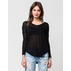 FULL TILT Essential Textured Womens Sweater
