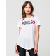 YOUNG & RECKLESS Come Thru USA Womens Tee
