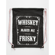 Frisky Whiskey Cinch Sack