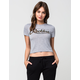YOUNG & RECKLESS Camo Script Womens Tee
