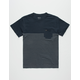 RVCA Switch Up Boys Pocket Tee