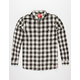 ELEMENT Buffalo Plaid Mens Flannel Shirt