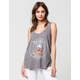 JUNK FOOD Mickey Mouse Womens Tank