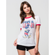 JUNK FOOD USA Mickey Womens Ringer Tee