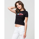 YOUNG & RECKLESS USA Script Womens Tee