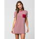 SOCIALITE Pocket Tee Dress