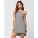 FULL TILT Ribbed Halter Dress