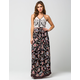 PATRONS OF PEACE Halter Maxi Dress