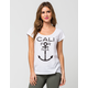 VOLCOM Anchor It Womens Tee