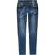 VANILLA STAR Metallic Trim Girls Skinny Jeans