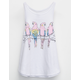 BILLABONG Four Parrots Little Girls Tank