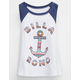 BILLABONG Anchor Little Girls Muscle Tee
