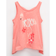 ROXY Flamingo Little Girls Tank