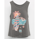 ROXY Beach Scene Little Girls Tank