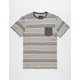 ROARK Scribble Mens Pocket Tee