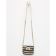 Stripe Mini Crossbody Bag