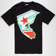 FAMOUS Stars & Straps CA Reppin Mens T-Shirt