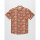 FREE NATURE Batik Crazy Mens Shirt