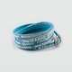 GOOD WORKS You Are Beautiful Vintage Wrap Bracelet