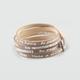GOOD WORKS Be Happy-Luscious Wrap Bracelet