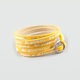 GOOD WORKS Be Happy-Luscious Wrap Bracelet