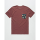 RIP CURL Glory Custom Mens Pocket Tee