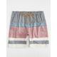 VALOR Sumatra Americana Mens Elastic Waist Shorts