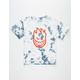 SPITFIRE Bighead Tie Dye Boys T-Shirt