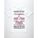 ASPHALT YACHT CLUB Cali Bear Delta Lockup Mens T-Shirt