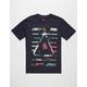 ASPHALT YACHT CLUB Oasis Delta Bars Mens T-Shirt