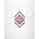 ASPHALT YACHT CLUB Tie Dye Delta Lockup Mens T-Shirt