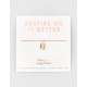 LUCKY FEATHER Besties Do It Better Necklace