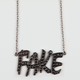 ROCK REBEL Fake Necklace